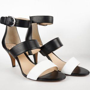Vince Camuto Shoes Masen Leather MidHeel Sandal